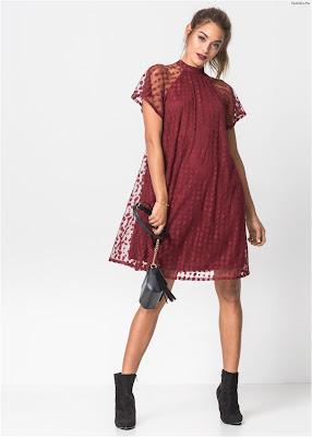 Vestidos rojos cortos juveniles