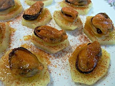 Mejillones al pimentón