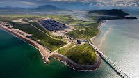 The Australian government has promised $1bn to help build a railway to the Abbot Point port in order to export coal from a proposed mega-mine. (Credit: Pic: Greenpeace/Tom Jefferson) Click to Enlarge.