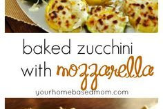 Baked Zucchini with Mozzarella Recipe