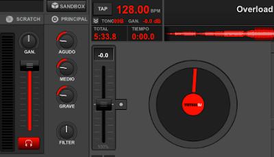 Ecualizador de Virtual DJ