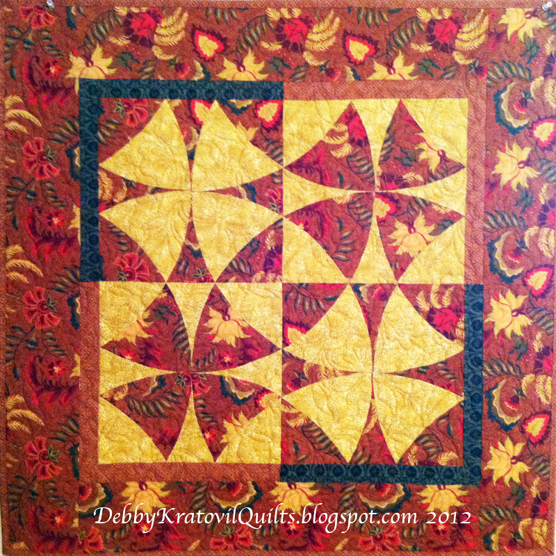 Debby Kratovil Quilts Winding Ways Tutorial