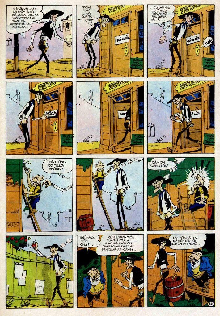 Lucky Luke tập 25 - nhện chân dài trang 21