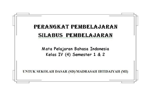 Silabus Bahasa Indonesia Kelas 4,5,6 Semester 1 dan 2 KTSP