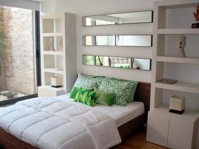 Construindo minha casa clean cabeceiras de cama na for Espejos para habitaciones juveniles