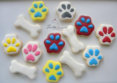 ciasteczka psi patrol