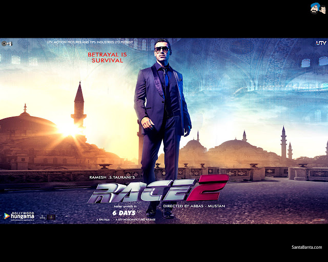 Race 2 hot poster