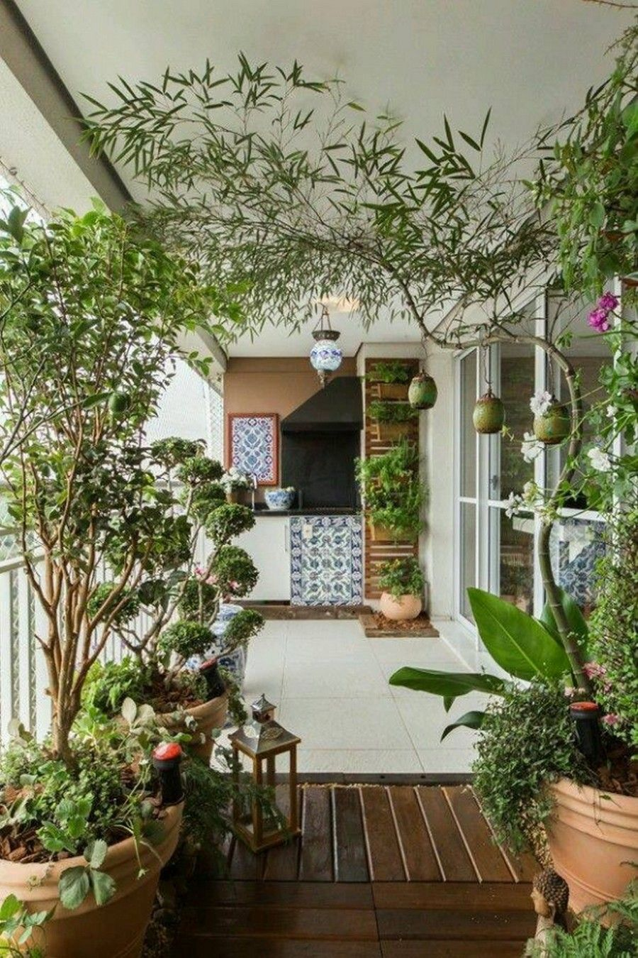 128 Garden On Small Balcony