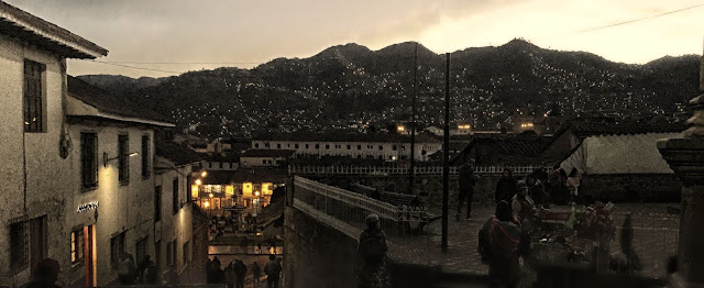 Cuzco at twilight
