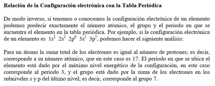 Las ciencias quimabi ordenamiento electrnico respetar la capacidad mxima de cada subnivel s 2e p 6e d 10e y f 14e urtaz Images