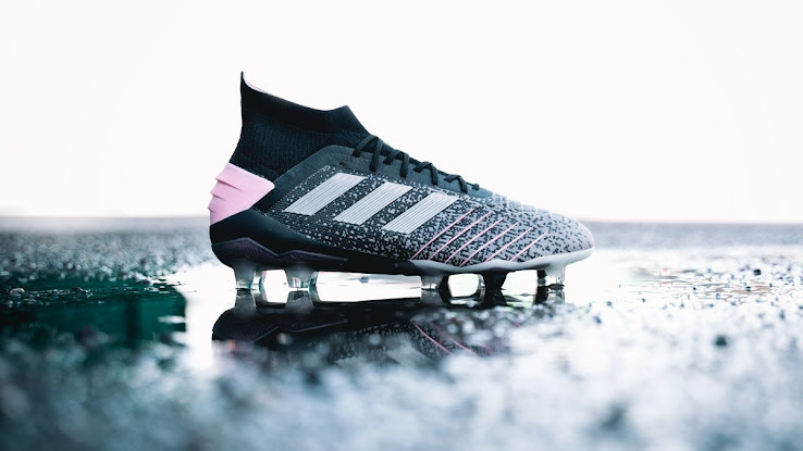 4fac8ae4e Adidas has finally released the first women's edition of the new Predator  19.1 boots. Combining a gradient design with white and pink details, they  offer an ...