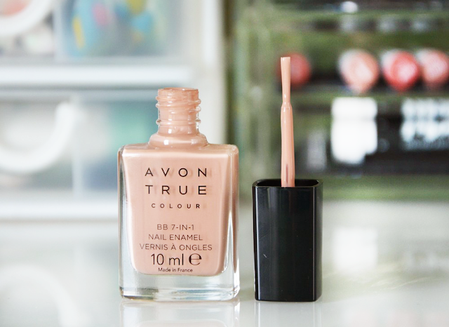 Avon True Colour BB 7-in-1 Nail Enamel Restoring Beige