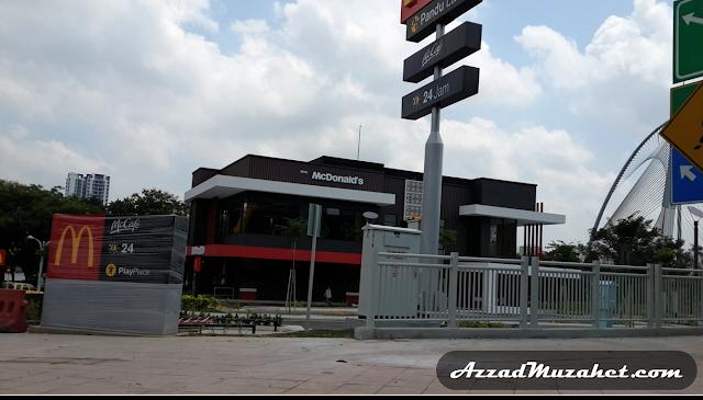 Putrajaya 24hour McDonald's Drive Thru