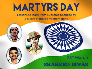 Shaheed Divas or Martyr's Day observed in the country on March 23rd