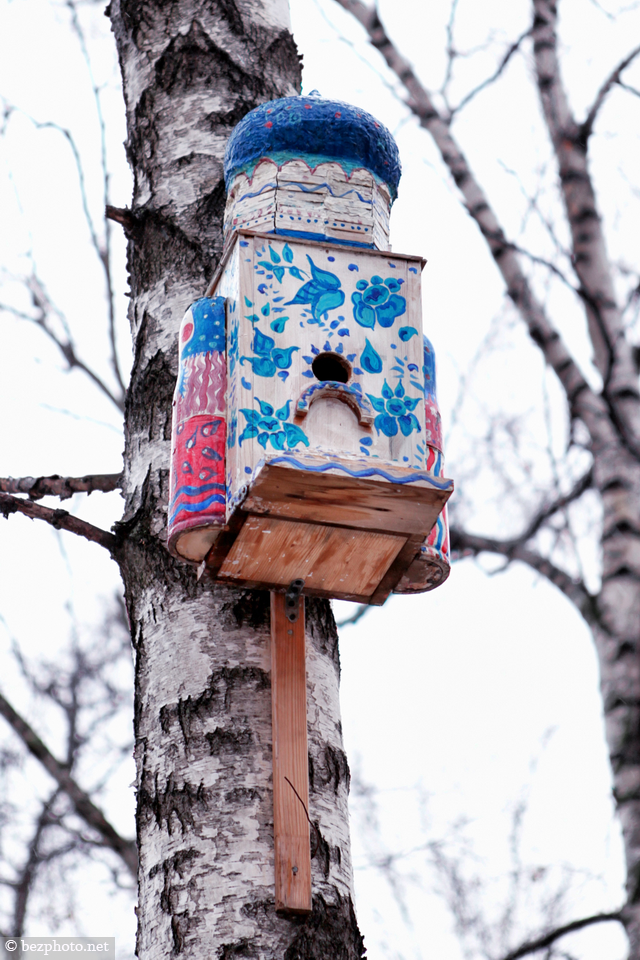 сreative nesting boxes