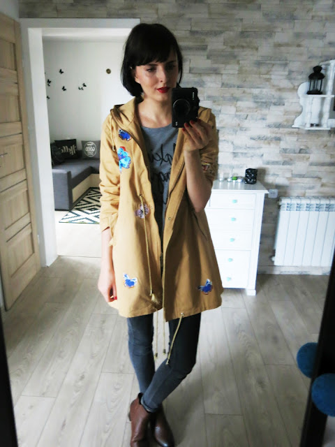 Pięknie haftowany płaszczyk ♥ ZAFUL ♥