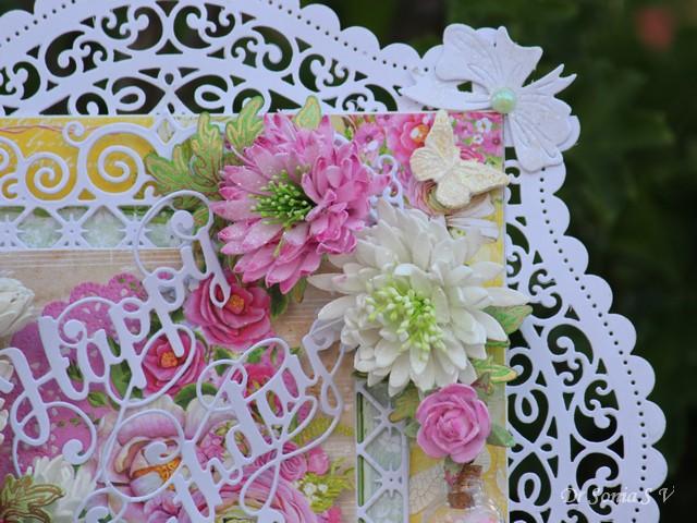 Craft Box Foamiran Flower Die Set S