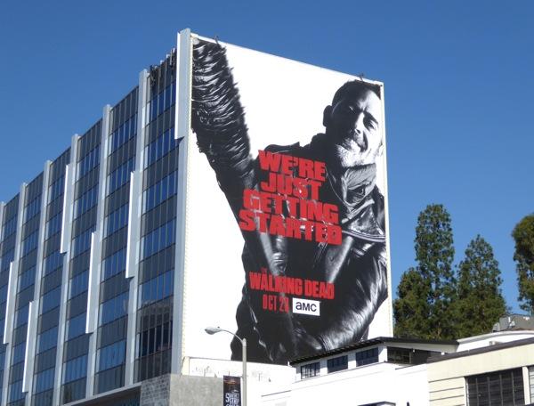 Walking Dead Negan giant billboard