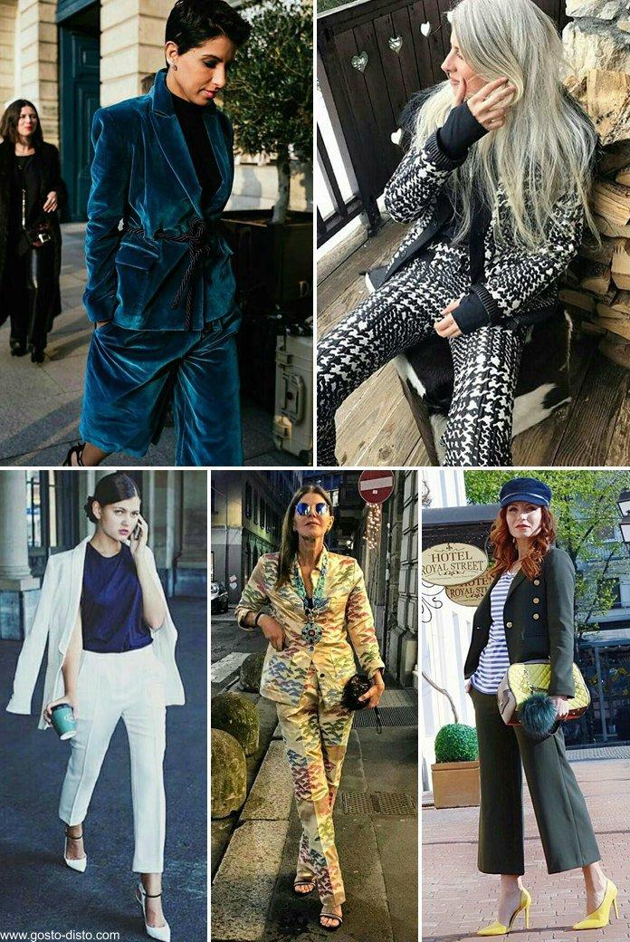 Poderosas mulheres de terno feminino