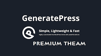 GeneratePress Premium 1.7.1 - WordPress Theme