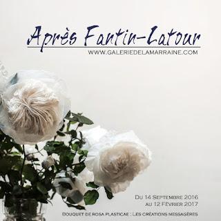 Exposition Après Fantin-Latour, Galerie de la Marraine, Fleurs : Les Créations Messagères