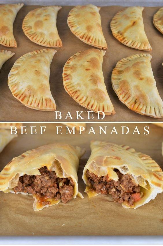 Baked Beef Empanadas