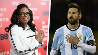 Oprah Winfrey's Advice For Football Superstar Messi