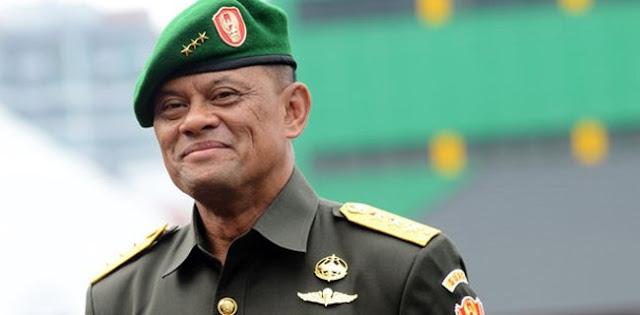 Sore Ini, Gatot Nurmantyo Terima Penghargaan Khusus Dari Presiden Singapura