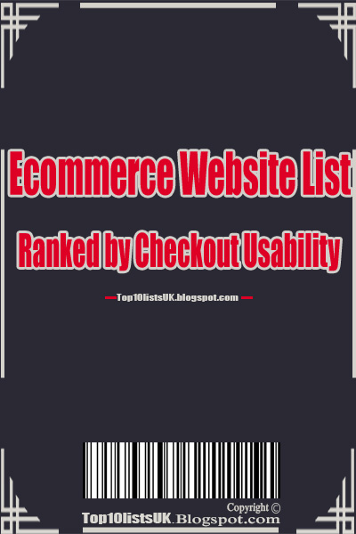 Ecommerce Website List: Ranked by Checkout Usability