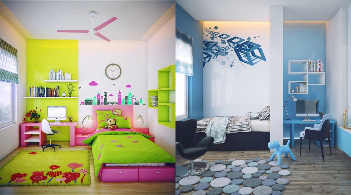 la d coration d une chambre d enfant la fois belle et ludique le blog d co top. Black Bedroom Furniture Sets. Home Design Ideas