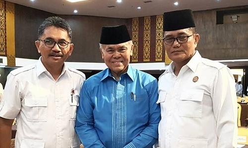 Emzalmi Hadiri Rakorda Gerindra, Ahmad Muzani: Kader Punya Tanggungjawab Memenangkan Calon Kepala Daerah yang Diusung