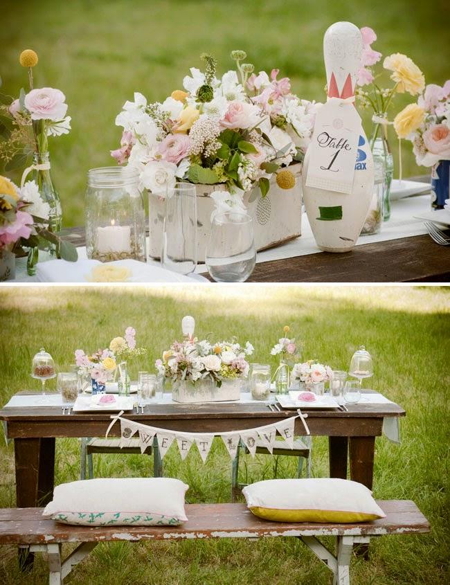 On Picnic Wedding Ideas - Elegant Table Decorations ...