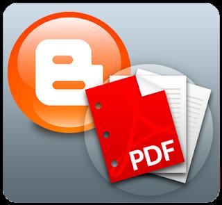 blogger to pdf