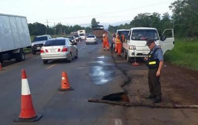 Consorcio está a cargo del mantenimiento de la ruta II desde Ypacaraí hasta Caaguazú