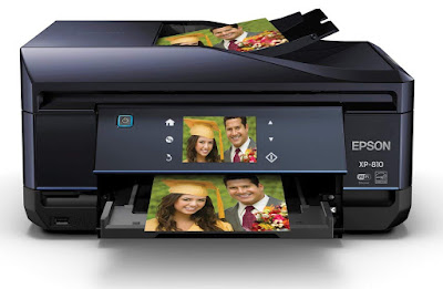 Small Wireless Color Photo Printer alongside Scanner Epson Expression Premium XP-810 Driver Downloads