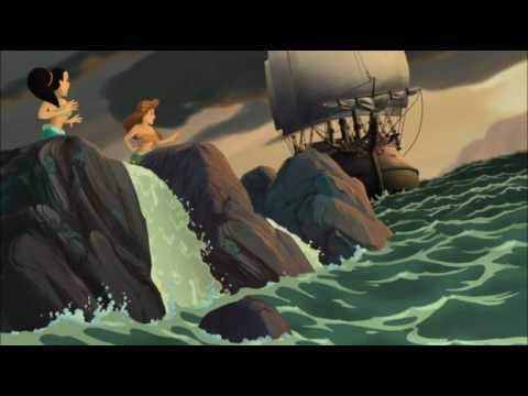 Pirate Ship The Little Mermaid 3 2008 animatedfilmreviews.filminspector.com