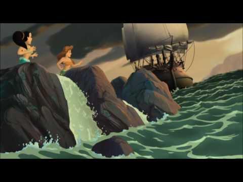 Pirate Ship The Little Mermaid 3 2008 animatedfilmreviews.filminspector.com