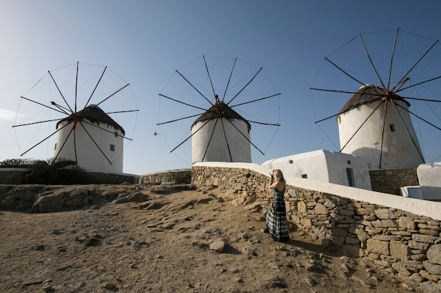Mulini a vento-Mykonos town