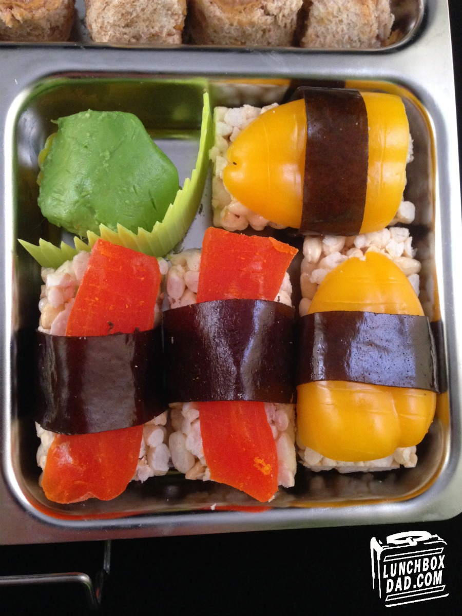 Faux Sushi Bento Lunch