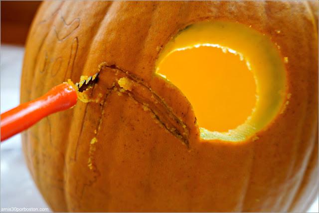 Tallar Calabazas Decoradas para Halloween