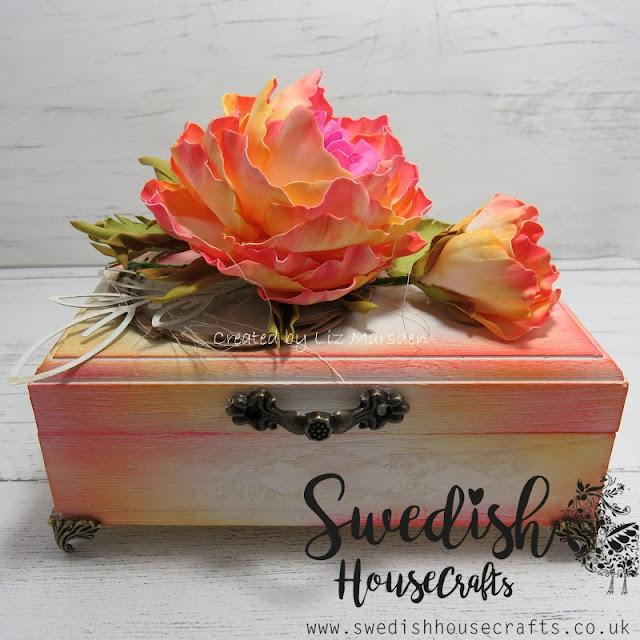 Mixed Media Box | By Liz