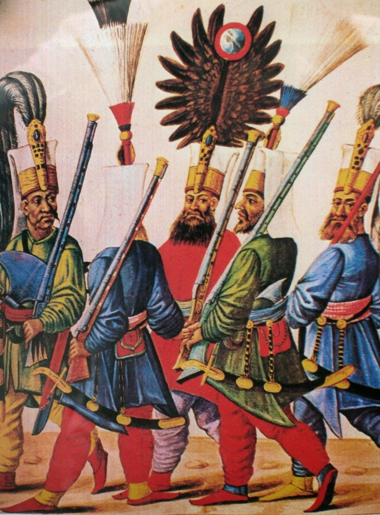 Who are the Janissaries of the Armed Forces of the Ottoman Empire 94