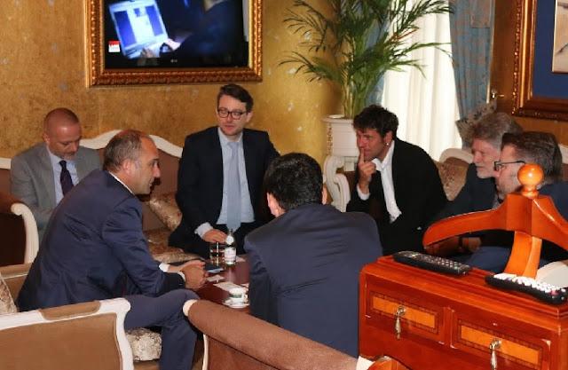 Sowi Kosova leaders and Gashi team meeting
