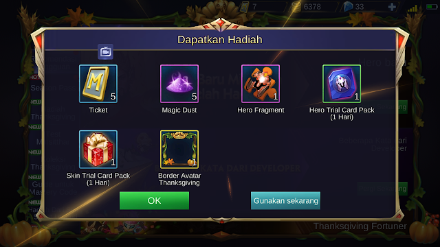 Tutorial Mendapatkan Border Musim Semi Mobile Legends 9