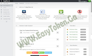 Share Tools To Generate Cookie Facebook