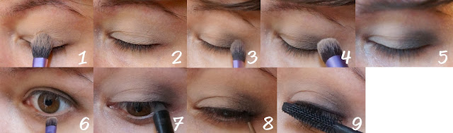 3 looks maquillage avec la palette Naked 1 Urban Decay