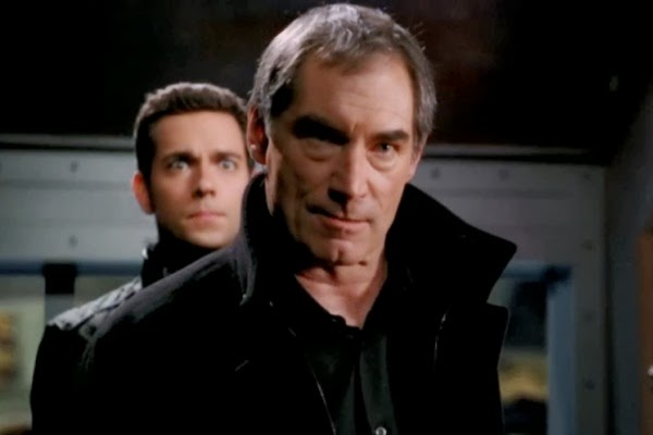 Zachary Levi as Chuck Bartowski and Timothy Dalton as Alexei Volkoff in Chuck 4x20 'Chuck versus the Family Volkoff'