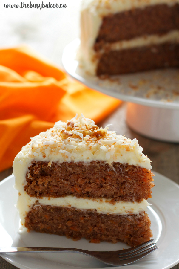 How Much Oil In Old Fashioned Carrot Cake