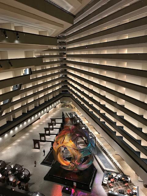 The Hyatt Embarcadero lobby
