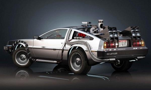 DeLorean DMC-12 volver al futuro